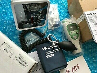 New Welch Allyn Sure Temp Plus M690 Digital Oral Thermometer Wall Blood Pressure