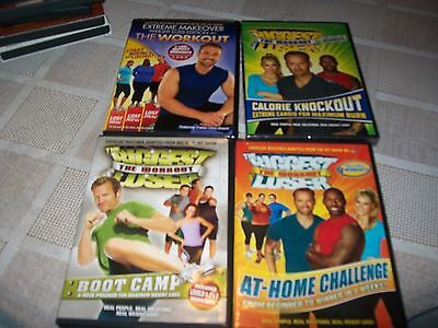 Lot Of 4 Biggest Loser DVD 2 New