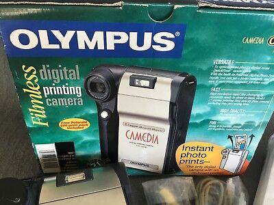 *OLYMPUS Camedia C-211 Instant Printing Digital Camera New In Original Package