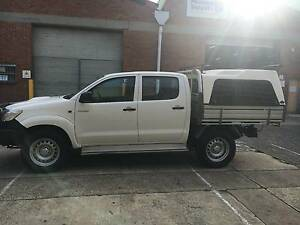 2013 Toyota Hilux Ute 4x4, 4wd, diesel, dual cab Rosebery Inner Sydney Preview