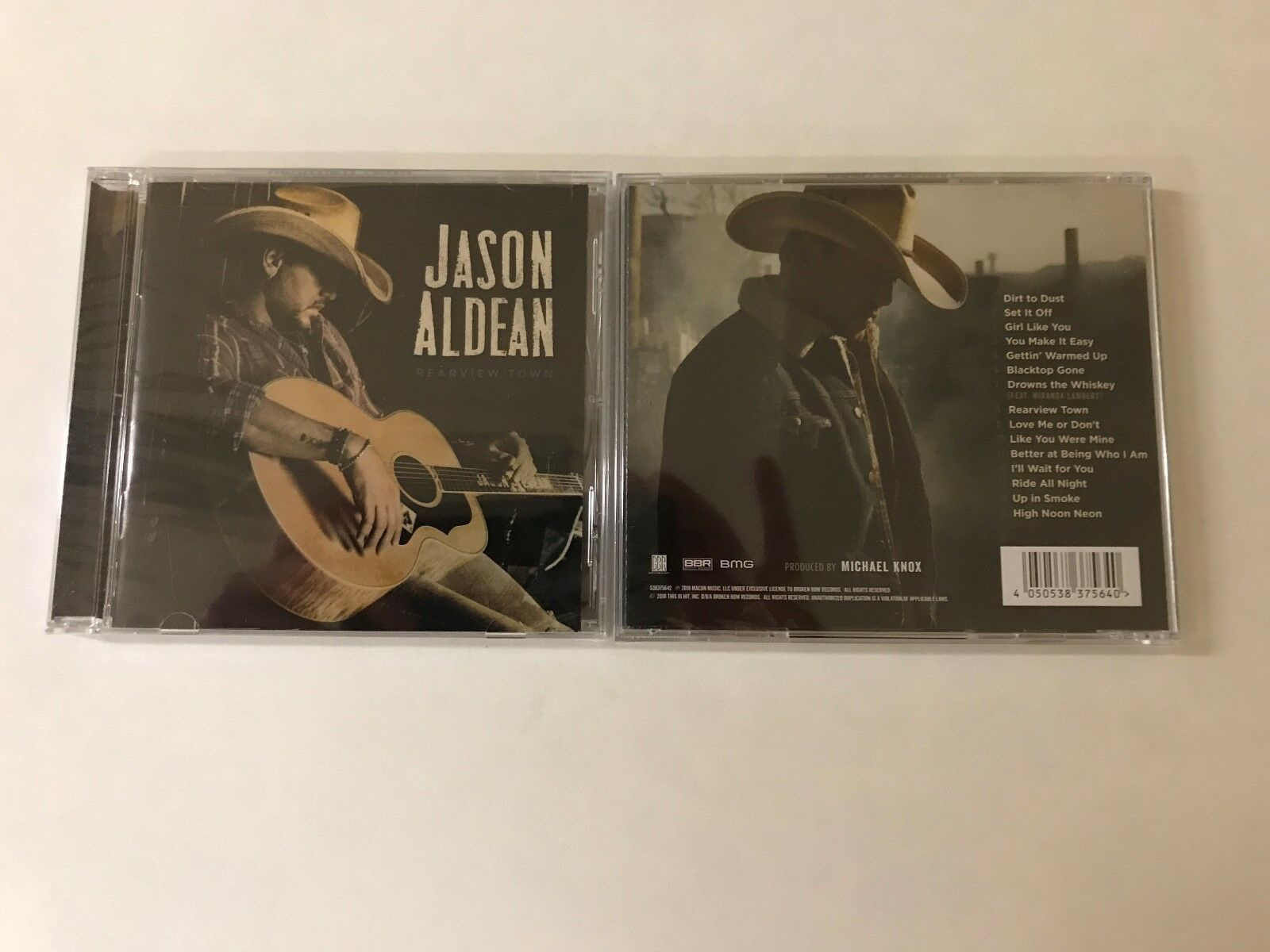 REARVIEW TOWN BY JASON ALDEAN - APRIL 2018 RELEASE 100% AUTHENTIC FACTORY SEALED
