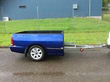 Falcon ute back trailer with alloy rims Gloucester Gloucester Area Preview