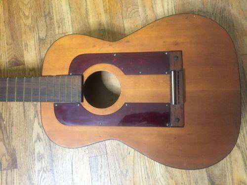 Antique Silvertone Classical Flamenco Guitar - With Tap Plates - Spanish Guitar