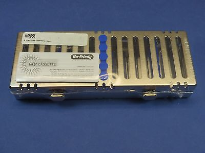 Dental Cassette Signature 5 Instruments Cassette Blue Im6058 Hu Friedy