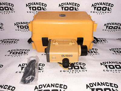 Topcon Dl-102c 30x Digital Electronic Auto Automatic Level Dini