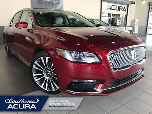 2017 Lincoln Continental Select, Leather, Navigation, Remote Sta