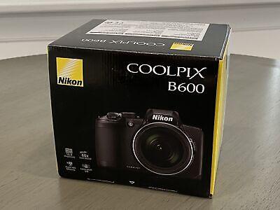 Nikon Coolpix B600 16MP Full HD 60x Optical Zoom Digital Camera Point & Shoot