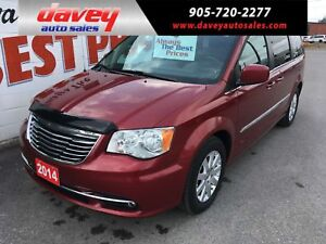 2014 Chrysler Town & Country Touring STO N GO, BACK UP CAMERA...