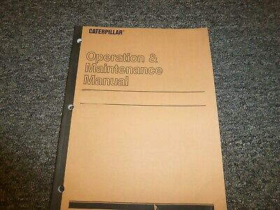 Cat Caterpillar Towmotor Am30 Forklift Lift Truck Owner Operator Manual