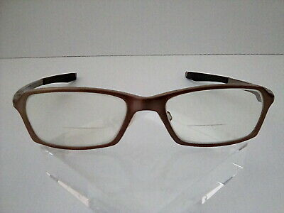 "Oakley ""Concrete 2.0"" Brushed Brown 53[]18 141 Eyeglass/Sunglass Frames"