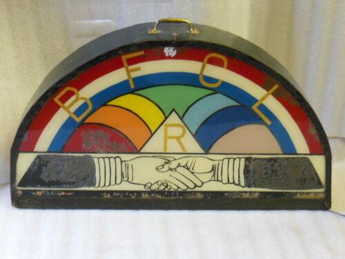 old Freemason BFCL International Order of Rainbow Girls - Masonic LIGHTED SIGN