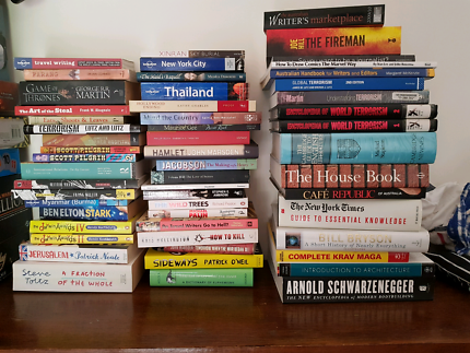 Selection of Used Books including old Textbooks