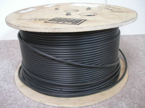 100ft. Belden 1505A 20awg RG59 Video Brilliance Coaxial HD-SDI Cable 6GHz Black