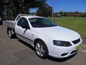 2008 FORD FALCON CAB CHASSIS UTE WITH LONG REGO. Croydon Burwood Area Preview