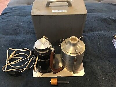 Andersen Air Sampler Model 0604 With Pump And Case