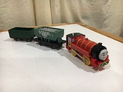 Hit Toy Motorized Victor at the Steam Works for Thomas and Friends Trackmaster