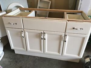 "Used vanity 48"" great shape!"