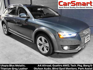 2016 Audi A4 allroad 2.0T Technik, B & O Audio, PanaRoof, Side-A