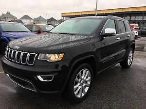 Jeep Grand Cherokee Limited 2017 HITCH/TOIT/GPS