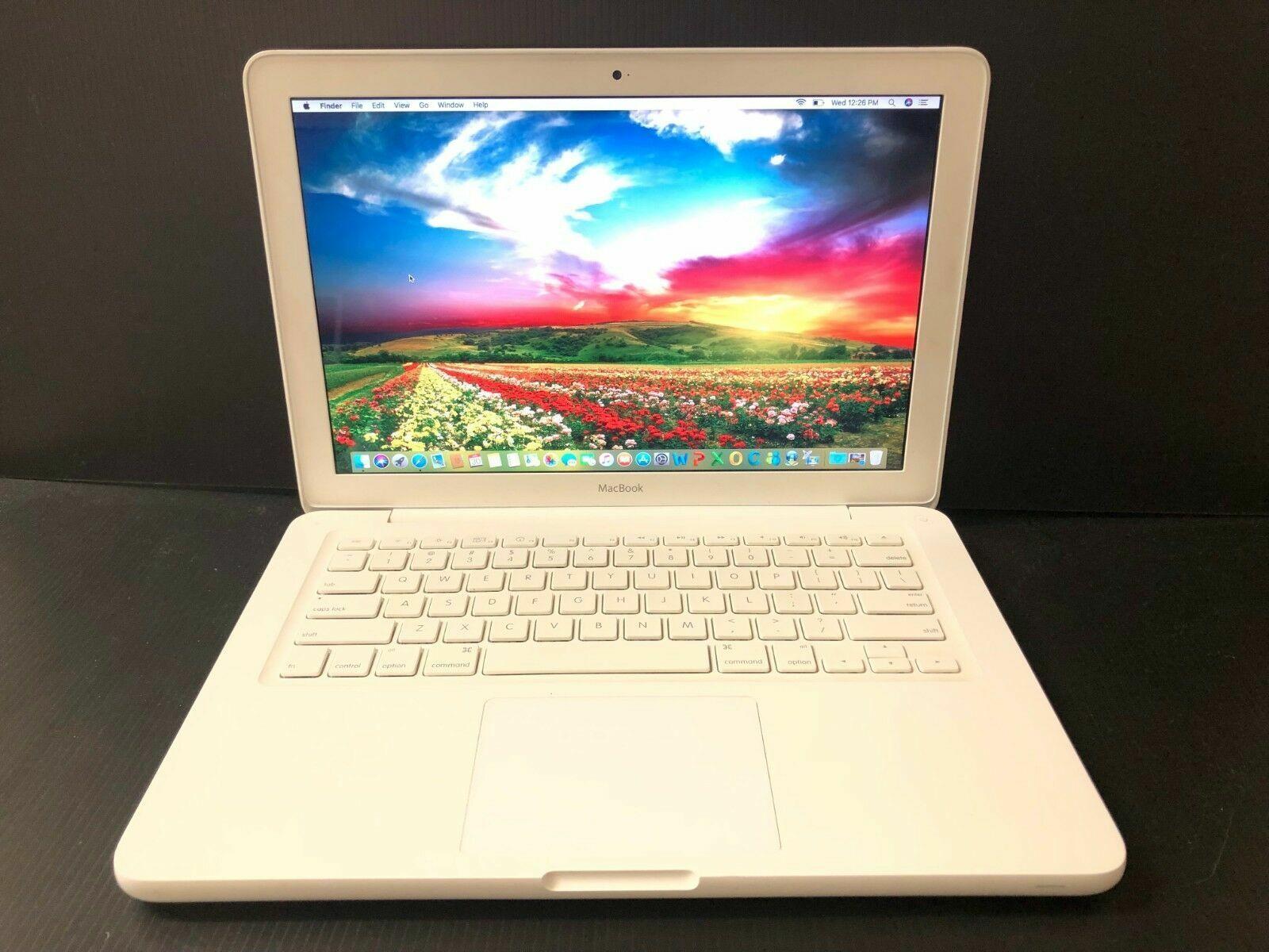 """Apple MacBook A1342 Pre-Retina 13"""" 2.26GHz 4GB RAM 250GB HDD Lastest 2017 OS"""