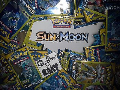 6 X Pokemon Sun   Moon Dollar Tree 3 Card Booster Packs   Factory Sealed  Fresh