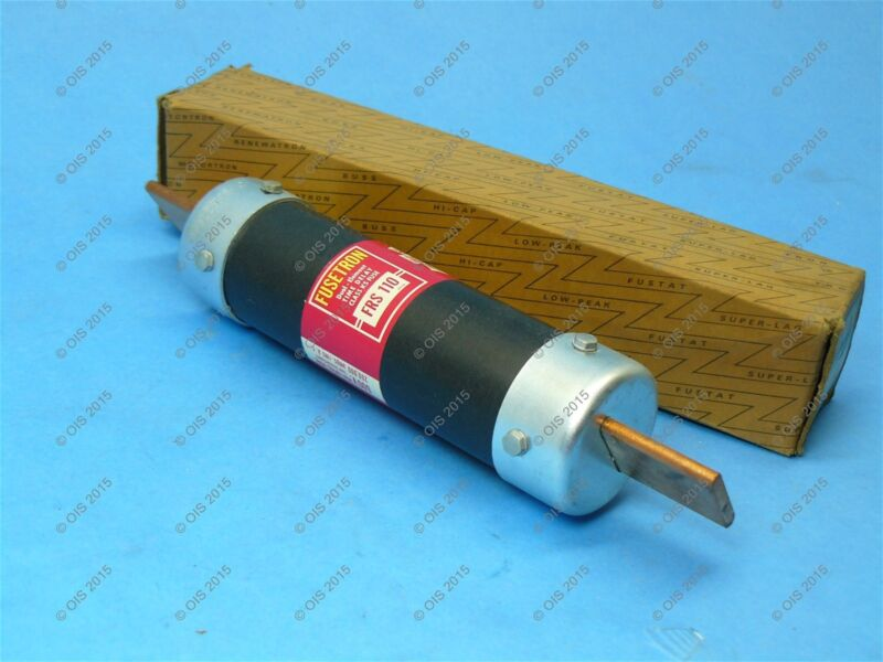 Bussmann FRS-110 Time-delay Fuse Class K5 110 Amps 600 VAC New