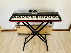 Korg Kross Keyboard Synthesiser Music Workstation (as new condition)