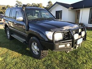 2002 100series Toyota  landcruiser Margate Kingborough Area Preview