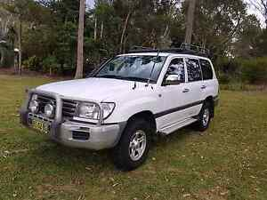04 toyota  100 series  landcruiser turbo diesel 5 speed automatic Medowie Port Stephens Area Preview