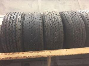 New 275/55R20 raised white letter toyo tires