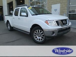 2012 Nissan Frontier SL 4L V6, LEATHER, NO ACCIDENTS