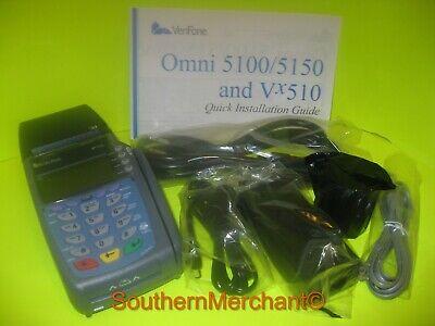 Verifone Vx510 Dual Com Smart Card Terminal 12meg Memory