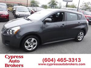 2009 Pontiac Vibe One Owner Local & No Accidents