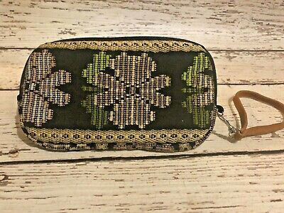 Guatemalan Wallet Bag - Handmade, Large Wallet/Clutch/Small Bag with Zipper