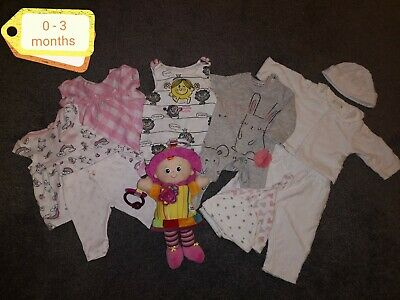Baby girl clothes 0-3 months bundle