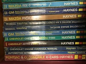 chevrolet and gmc repair manuals
