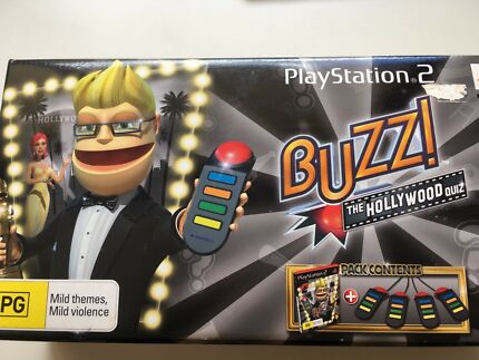 Sony PlayStation 2 Buzz Controllers Dakabin Pine Rivers Area Preview
