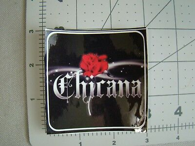 Chicana sticker lowrider sticker latina sticker chola sticker homegirl sticker