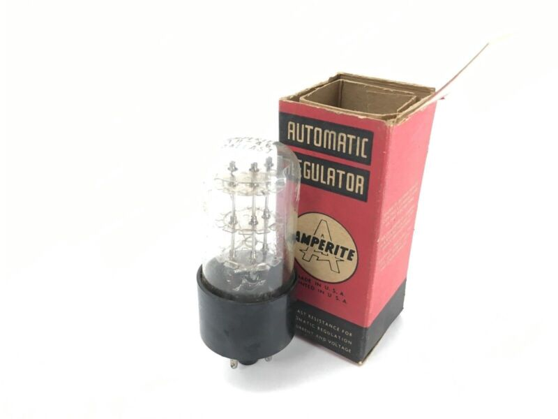2 Count Amperite Automatic Regulator Tube - New