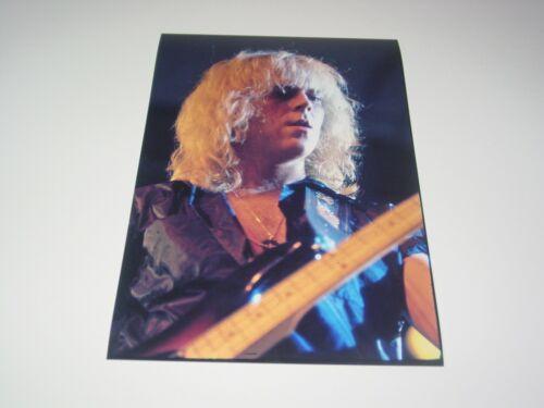 Aerosmith 8X12 Photo Tom Hamilton Rare Live Concert Draw the Line Tour 1977 #1