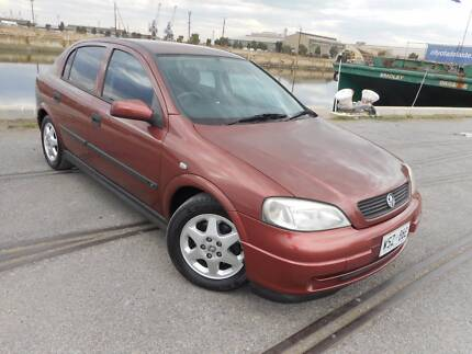 2001 Holden Astra Automatic Hatchback Full Service History