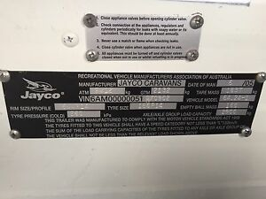 Jayco heritage 2005 shower and toilet Prospect Launceston Area Preview
