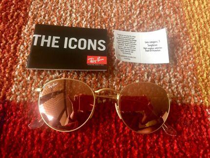 As new Ray-Ban flash lenses sunglasses