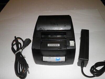 Citizen Ct-s310a Thermal Pos Receipt Printer Usb Port W Power Usb Cable