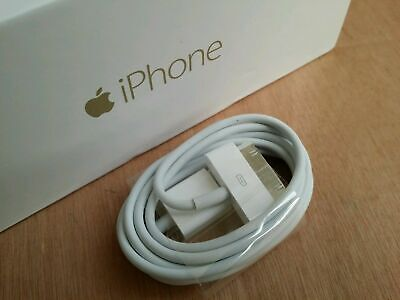 Genuine Charging Cable Charger Lead for Apple iPhone 4,4S,3GS,iPod