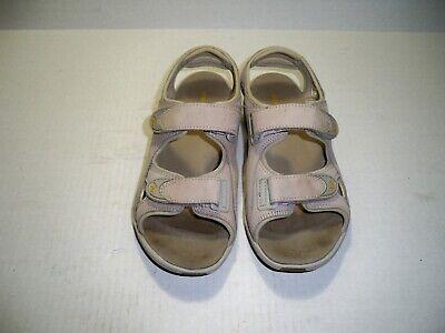 Merrell Women's VIA III Cement Grey Sport Sandals Size 6 M US Eur 37 ()