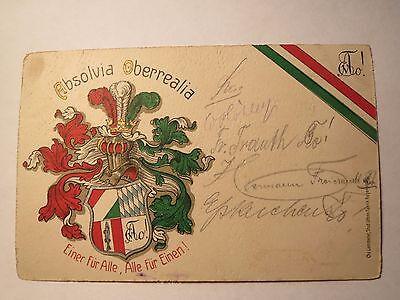 Kaiserslautern - Absolvia Oberrealia - 1910 - Wappen / Studentika