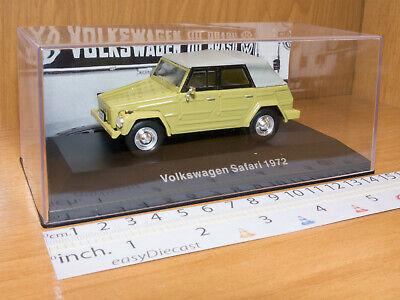 VOLKSWAGEN SAFARI 1:43 1972 VW, usado segunda mano  Embacar hacia Mexico