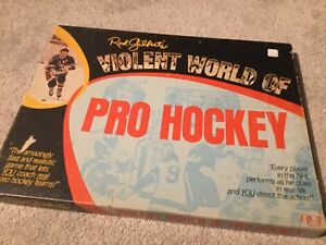 Rod Gilbert's Violent World of Pro Hockey board game