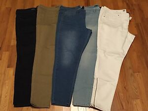 5 Pairs of Mossimo Denim Leggings